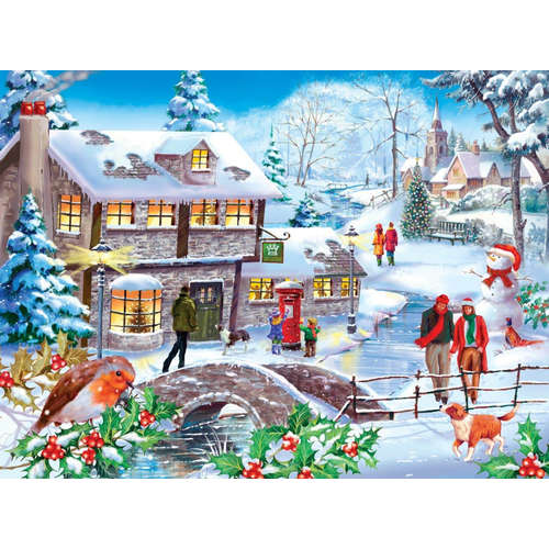 Winter Walk House Of Puzzles Jigsaw
