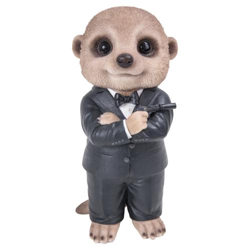 XMK-2321-D secret agent james bond meerkat vivid a