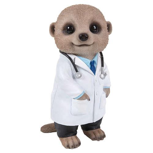 XMK-2329-D Doctor Meerkat vivid arts pet pals dr
