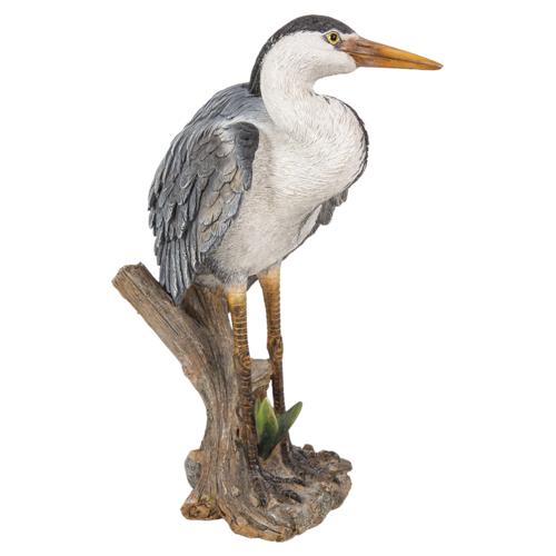 XRL-HRON-B Heron Vivid Arts Bird Woodland Real Lif