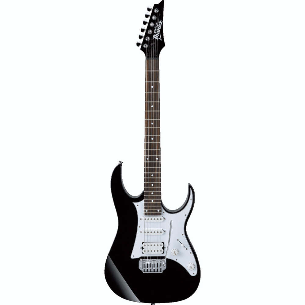 ibanez gio grg140 black electric guitar by ibanez grg140bkn. Black Bedroom Furniture Sets. Home Design Ideas