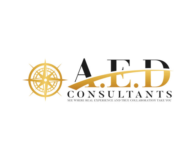 AED Consultants - Logo design