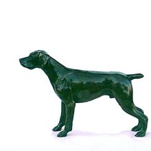 Bronze German shorthaired pointer dog by JOEL